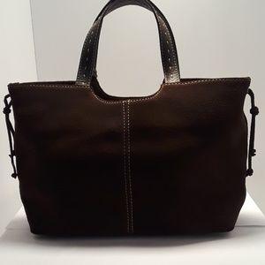 Alfani Leather Handbag